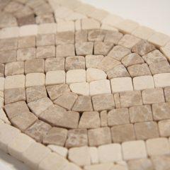 Capri Lite 4 X12 Mini Mosaic Stone Liner 1