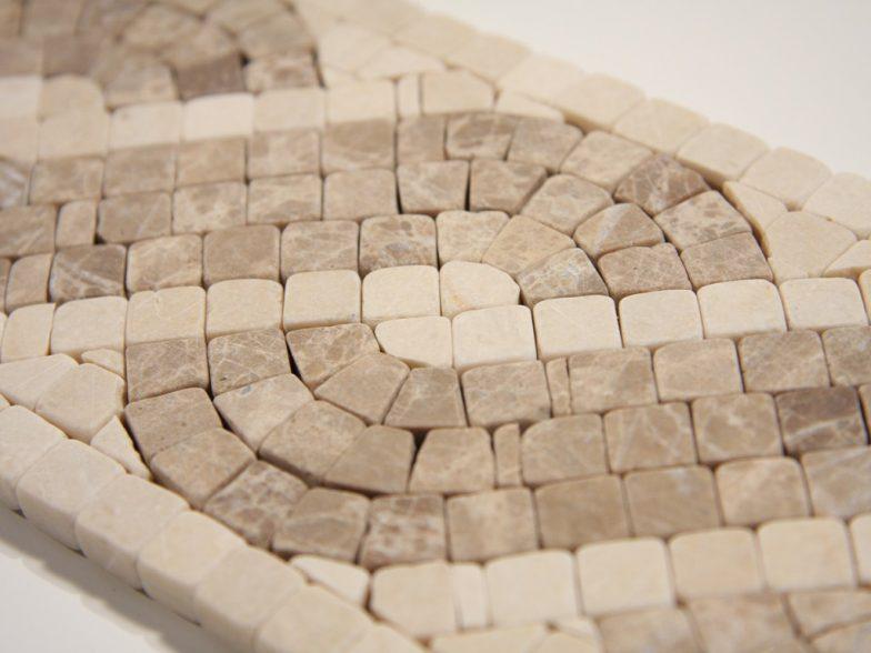 Capri Lite 4 X12 Mini Mosaic Stone Liner