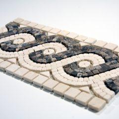 San Fernando 6 X12 Mini Mosaic Stone Border 2