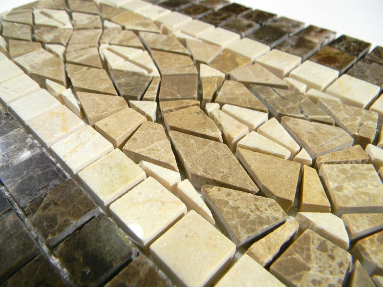 Designer Marble Mosaic Liner 6.75 X 12 Inches