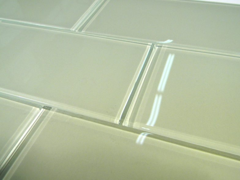 Celery Glass  3X6 Polish Subway Tile