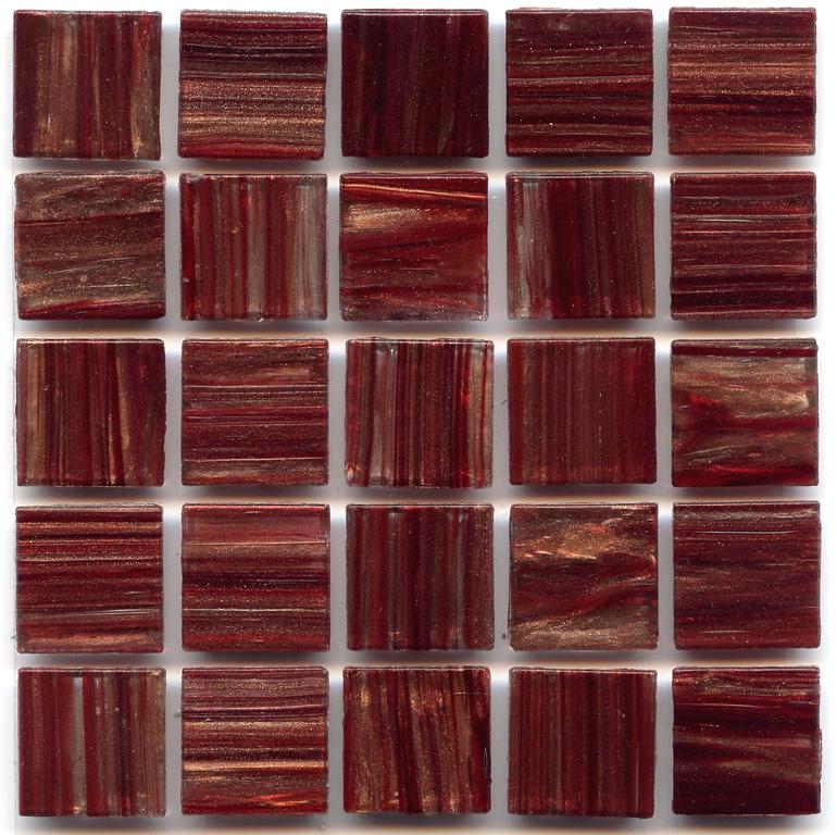 Merlot Red Gold Links Polish 3/4