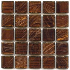Gold Links Gl 034 Copper Glitter 4 Mm Glass Tile 1