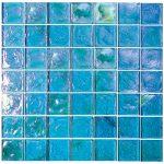 Excalibur 2X2 Iridescent Glass Tile