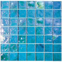 Excalibur 2X2 Iridescent Glass Tile 1
