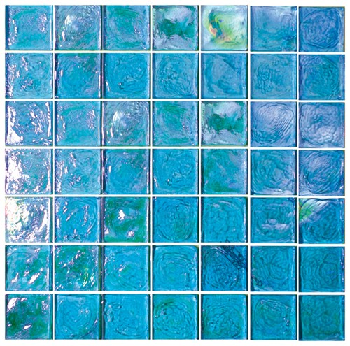 Excalibur 2X2 Iridescent Glass Tile