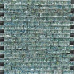 Ocean Pearl Abalone Random Brick Glass Tile 1
