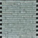 Ocean Pearl  White  Random Brick Glass Tile