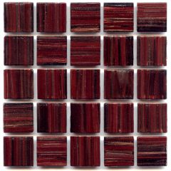 Gold Links Gl 063 Garnet 4 Mm Glass Tile 1