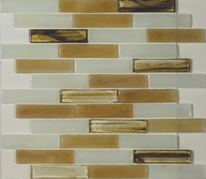 Carlyle 1 X 4 Linear Mosaic Sheet