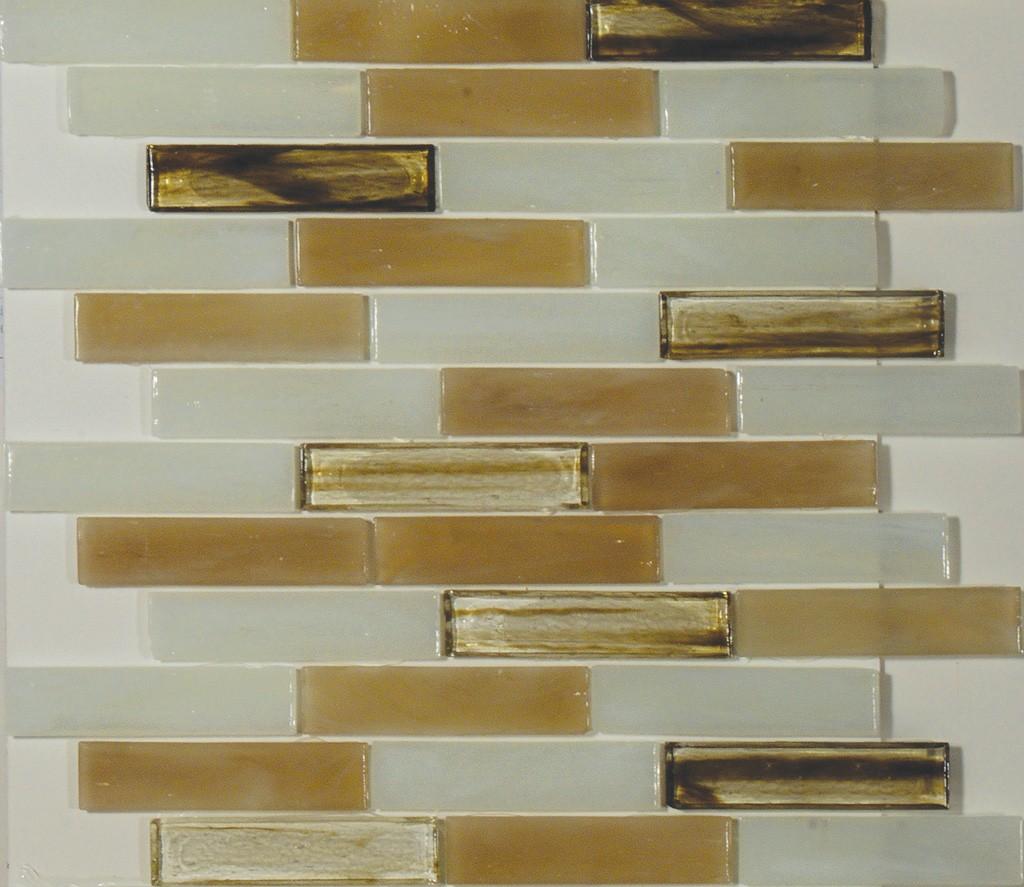 Carlyle 1 X 4 Linear Mosaic Sheet