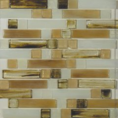 Carlyle Mixed 1 X 4 & 1 X 1 Linear Mosaic Sheet 1