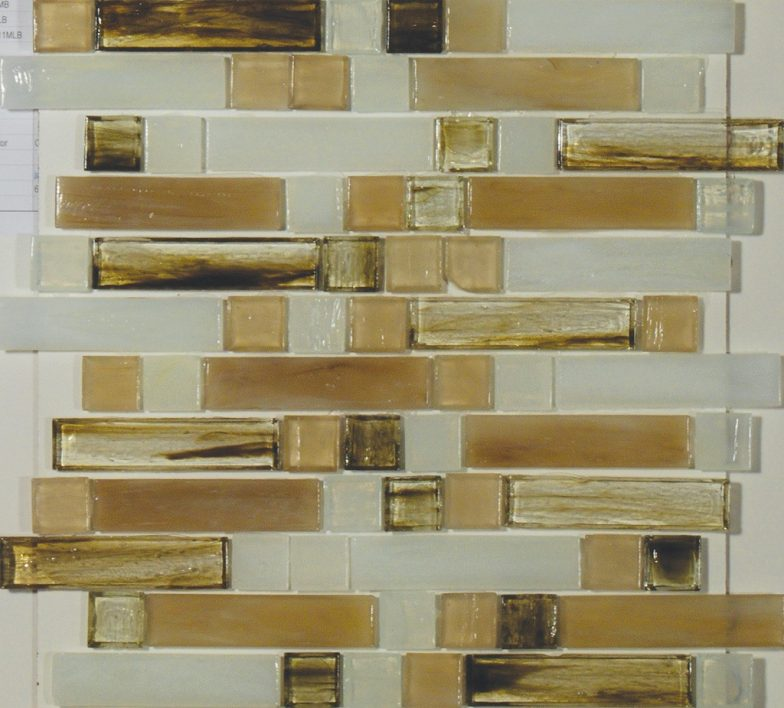 Carlyle Mixed 1 X 4 & 1 X 1 Linear Mosaic Sheet