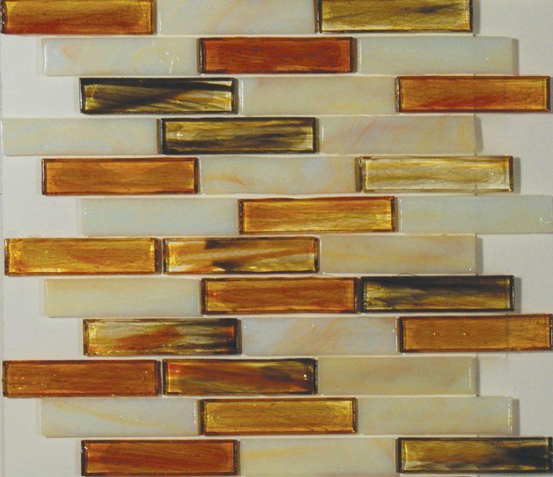 Kensington 1 X 4 Linear Mosaic Sheet