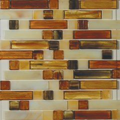 Kensington Mixed 1 X 4 & 1 X 1 Linear Mosaic Sheet 1