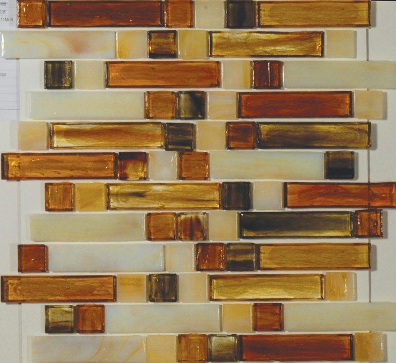 Kensington Mixed 1 X 4 & 1 X 1 Linear Mosaic Sheet
