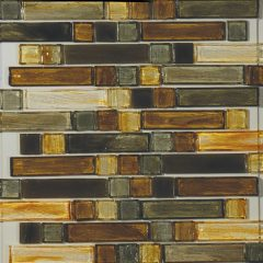 Marston Mixed 1 X 4 & 1 X 1 Linear Mosaic Sheet 1