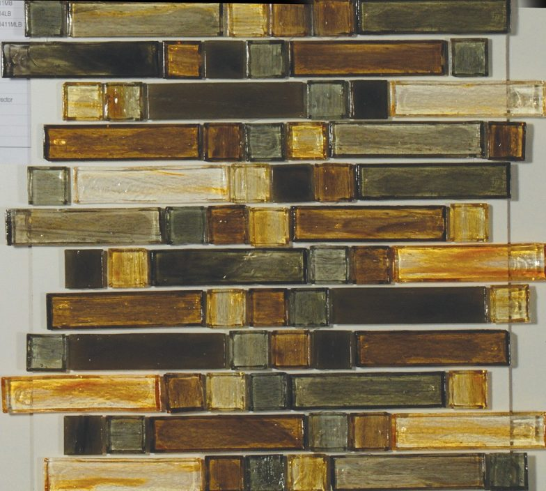 Marston Mixed 1 X 4 & 1 X 1 Linear Mosaic Sheet