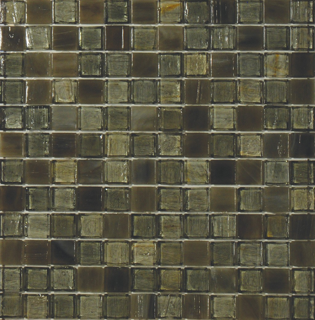 Wentworth 1 X 1 Mosaic Sheet Glass Tile Home