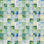Canterbury Mixed 1 X 1 Mosaic Sheet