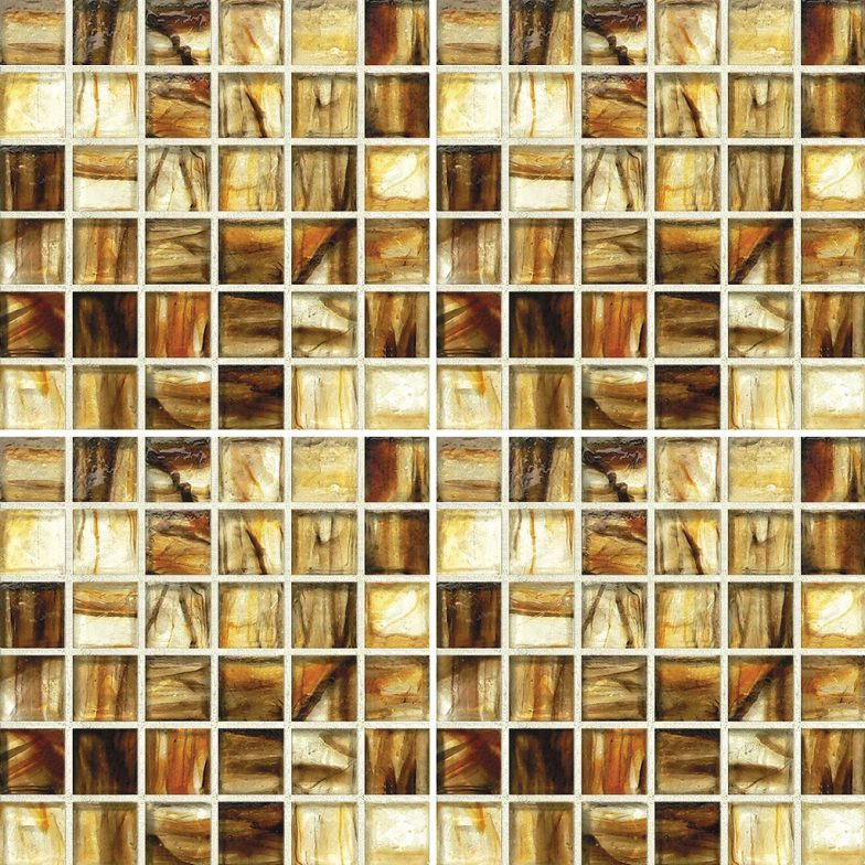 Exeter Mixed 1 X 1 Mosaic Sheet