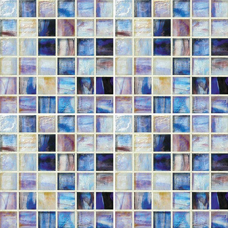 Lorraine Mixed 1 X 1 Mosaic Sheet