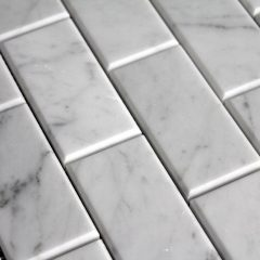 Carrara 3X6 Bevel Wall Tile 1