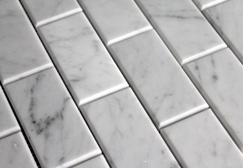 Carrara 3X6 Bevel Wall Tile