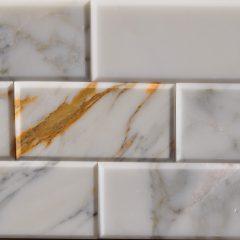 Calacatta 3X6 Bevel Tile