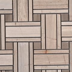 Noble Wood Vein Large Basketweave Pattern 1