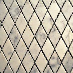 Cararra White Harlequin Tile 1