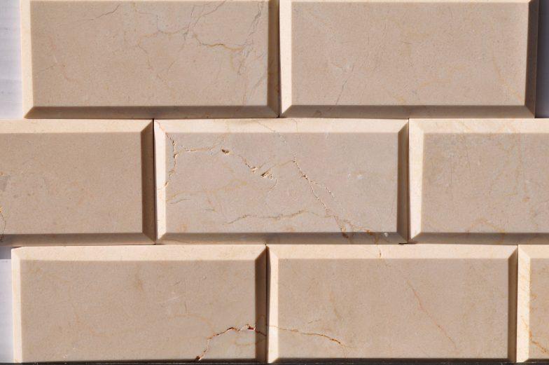 Crema Marfil 3X6 Bevel Tile