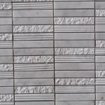 Cararra White Stacked Stone