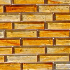 Fusion Glass Honey Gold Linear Strips 04S 1