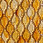 Fusion Glass Honey Gold Teardrop 04G