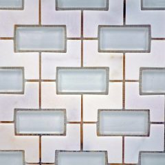 Calacatta  Marble Nicole Pattern 1
