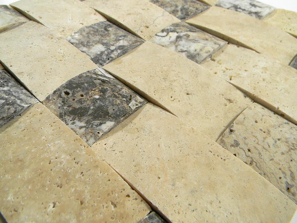 Travertine Onyx Slabs : Lava onyx travertine d wavy basketweave pattern glass
