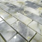 Casa Grigio Imported Marble Tile Polish 1X2 Brick