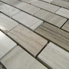 Wood Vein Marble Polish 1X2 Brick 1