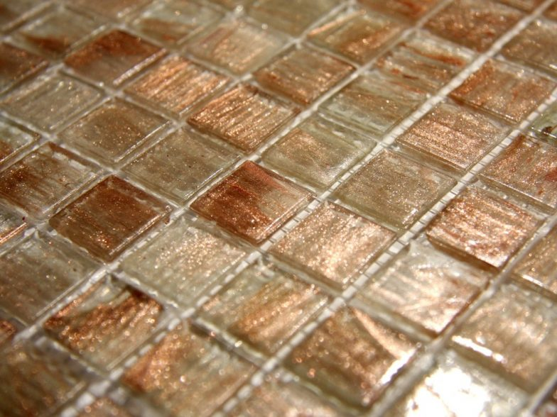 Gold Links Gl 001 Gold 4 Mm Glass Tile