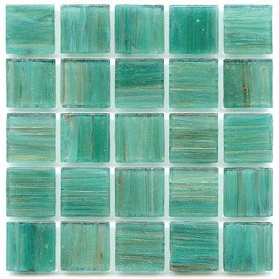 Aventurine Dragonfly Teal Glass Tile Home