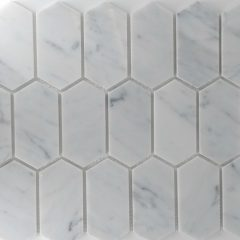 Picket Pattern Carrara