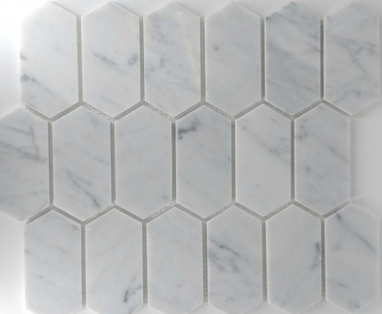 Picket Pattern Carrara