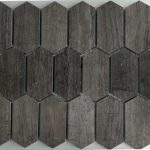 Picket Pattern Gray Vein