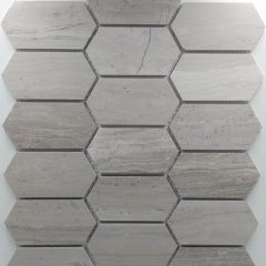 Picket Marble (Elongated Hex Pattern) Tile Collection