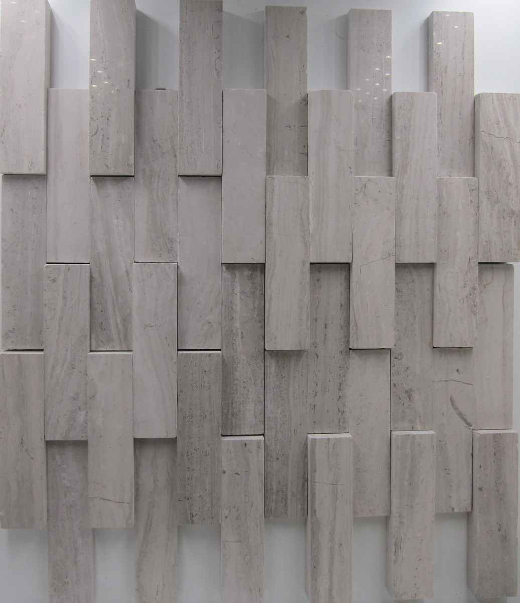Elevations Three Dimensional (3D) Marble Collection (Fulfilled in two half sections)