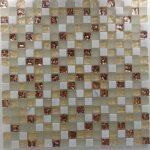 Mini Mosaic 5/8  White Gold