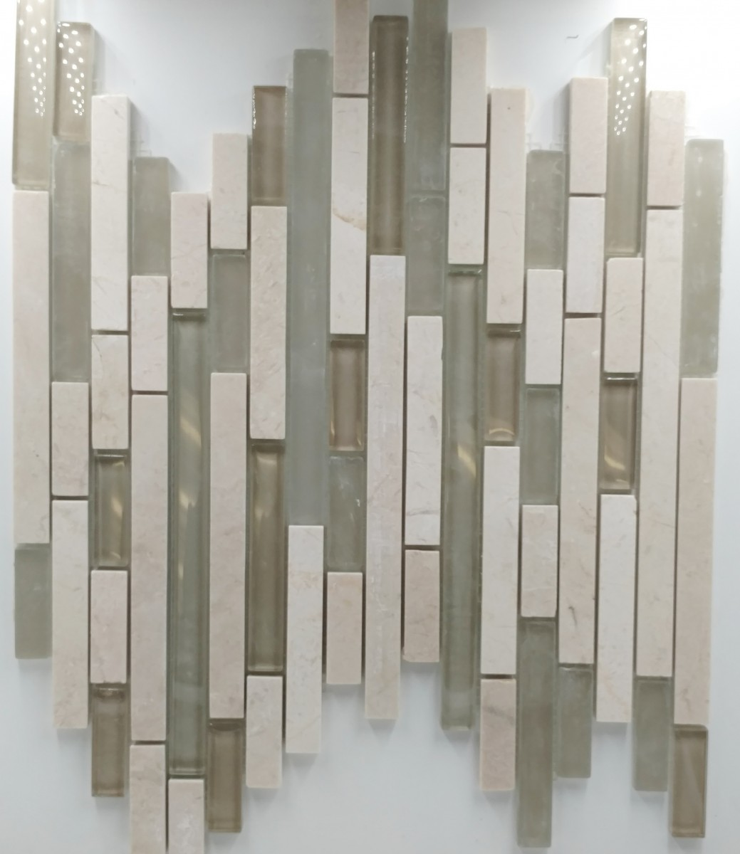 Linear Stone and Stone Glass Collection