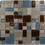 Puzzle Pattern Stone & Glass