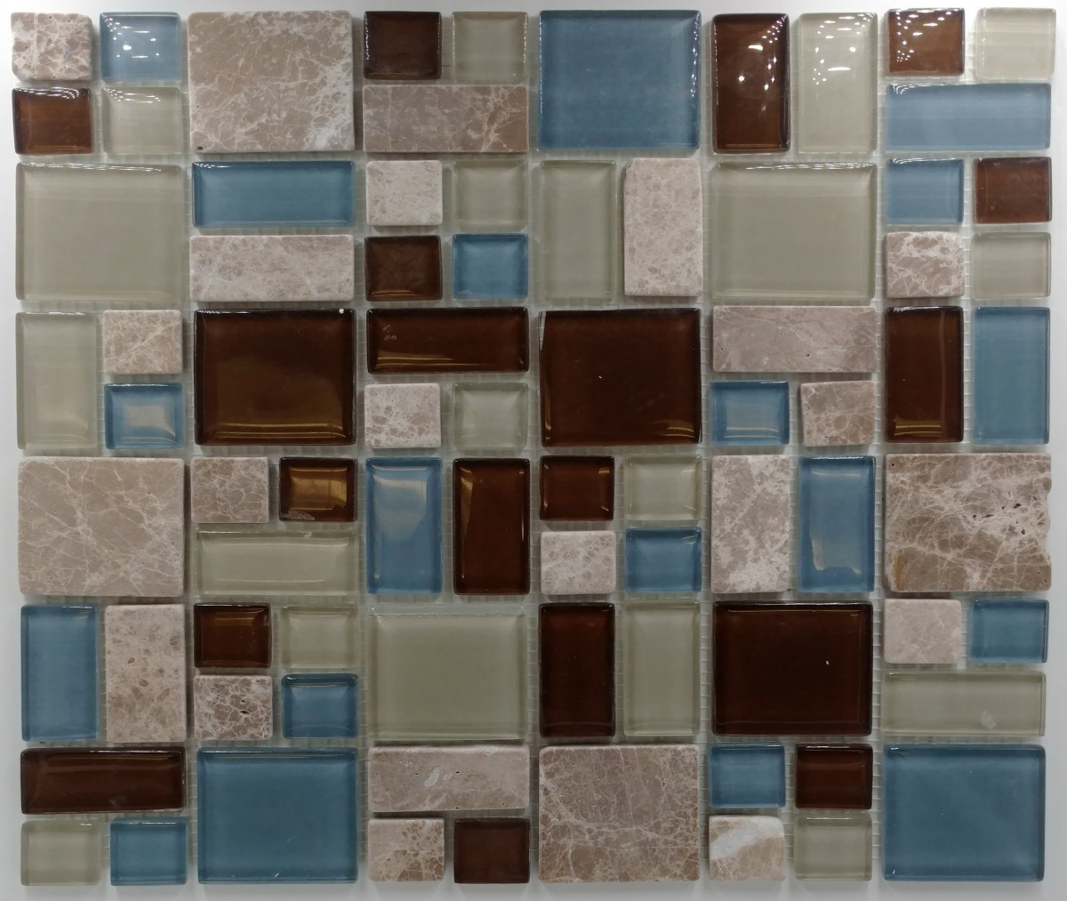 Puzzle pattern stone glass glass tile home puzzle pattern stone glass dailygadgetfo Choice Image